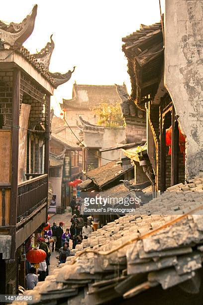 Narrow street of Fenghuang