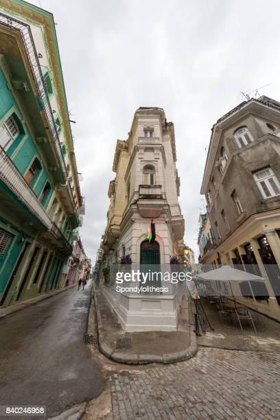 Schmale Straße - Alt-Havanna, Kuba