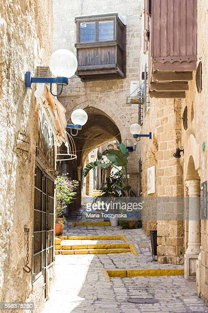 Narrow Streets in Jaffa
