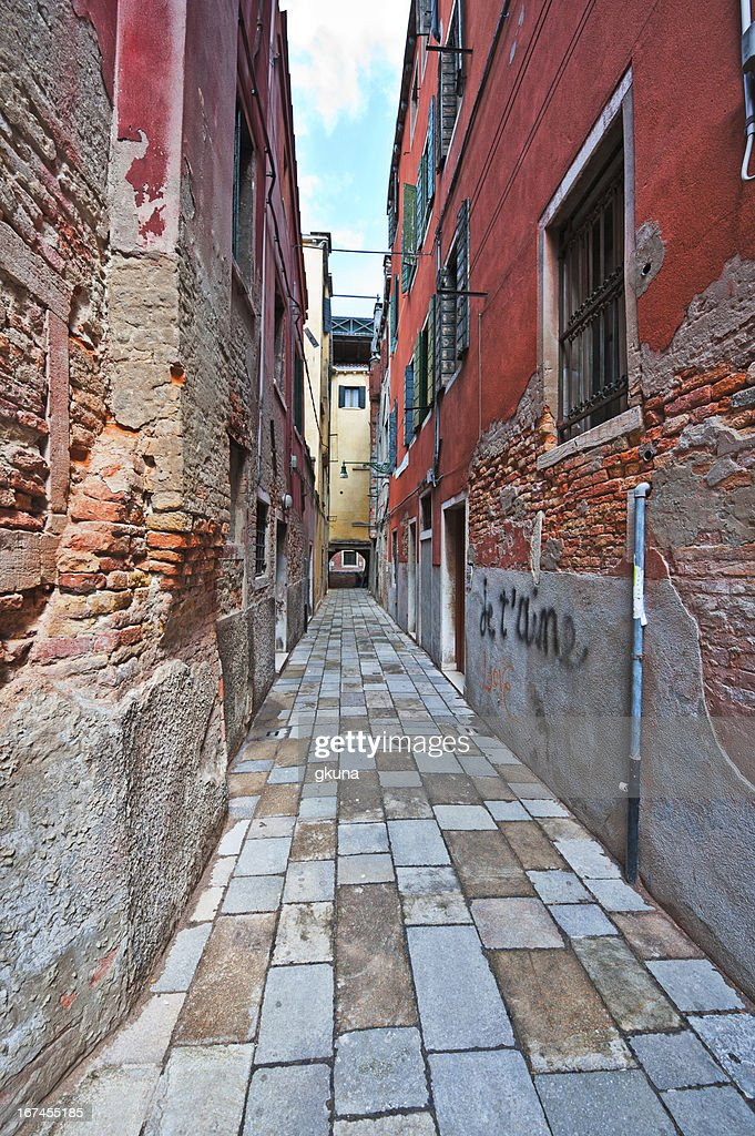 Narrow Venice : Stock Photo
