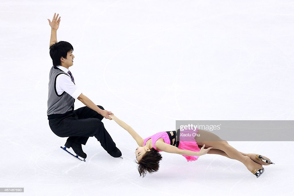 2015 Shanghai World Figure Skating Championships - Day 1 : News Photo