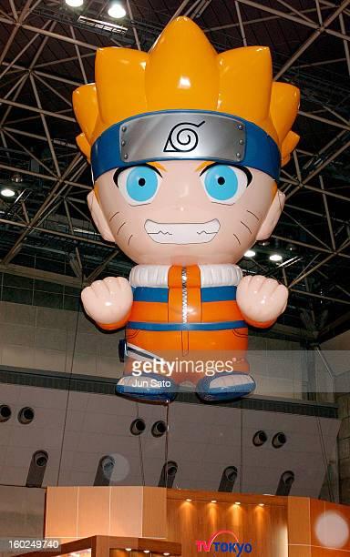 Naruto during 2004 Tokyo International Anime Fair at Tokyo Big Sight in Tokyo Japan
