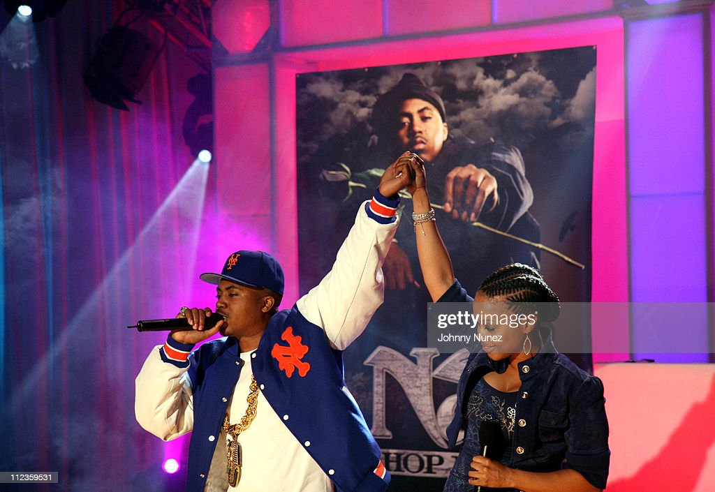 "Nas Private Concert For His New Album ""Hip Hop is Dead"" at BET Studios - December 13, 2006"