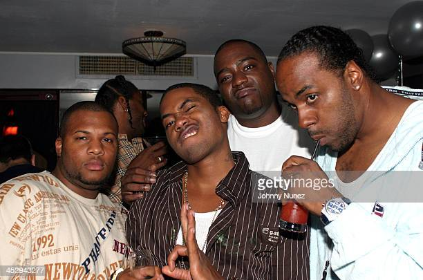 Nas and guests during Nas' Birthday Party at Ocean's 21 in New York City, New York, United States.