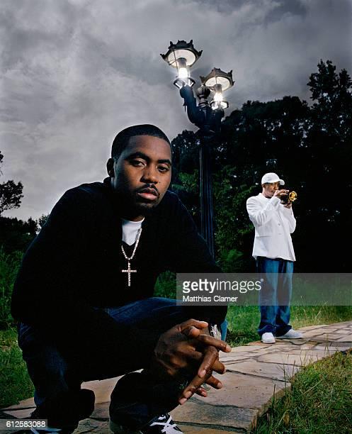 Nas and His Father Olu Dara