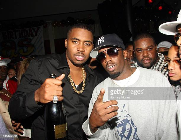 Nas and Sean P. Diddy Combs