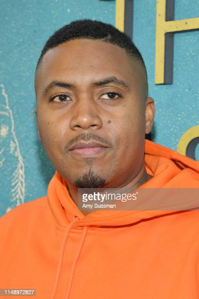 Nas attends the world premiere of Warner Bros The Sun Is Also A Star at Pacific Theaters at the Grove on May 13 2019 in Los Angeles California
