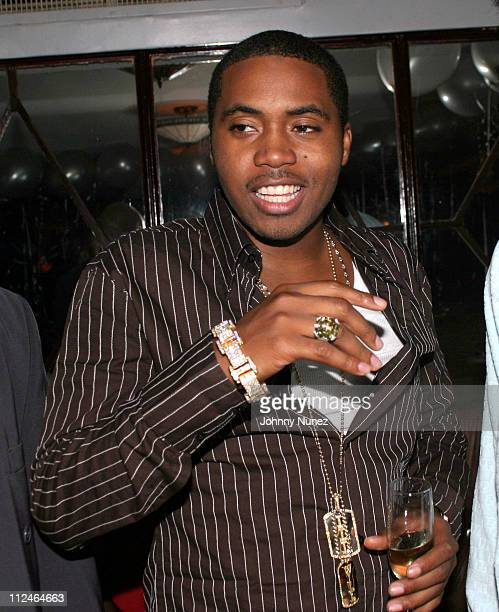 Nas during Nas' Birthday Party at Ocean's 21 in New York City, New York, United States.