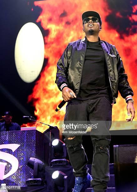 Nas performs at Bill Graham Civic Auditorium on November 3 2016 in San Francisco California