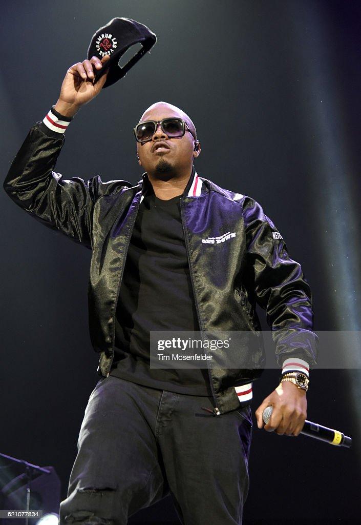 Nas performs at Bill Graham Civic Auditorium on November 3, 2016 in San Francisco, California.
