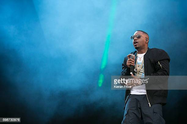 Nas performs at Electric Picnic Festival at Stradbally Hall Estate on September 2 2016 in Dublin Ireland