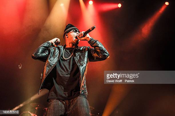 Nas performs at l' Olympia Paris on March 11 2013 in Paris France