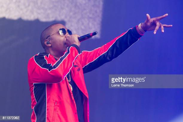 Nas performs at Wireless Festival Day 3 at Finsbury Park on July 9 2017 in London England