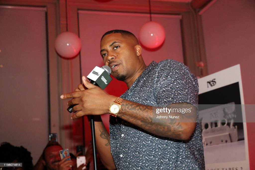 "Nas' ""The Lost Tapes 2"" Private Listening Session : News Photo"