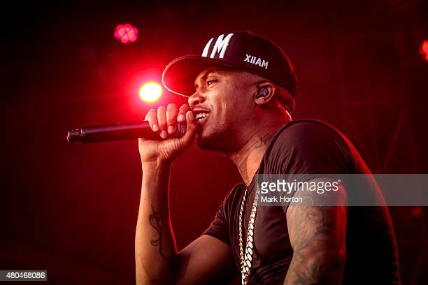 Nas performs on Day 4 of the RBC Royal Bank Bluesfest on July 11 2015 in Ottawa Canada