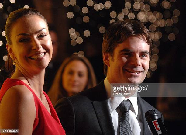 Nascar Driver Jeff Gordon and Ingrid Vandebosch attend the Sprint Nextel and Tiffany & Co. Celebrate Champions Week at Tiffany $ Co. On November 28,...
