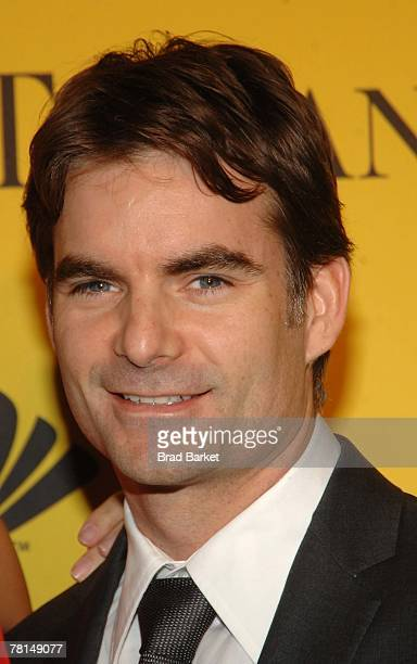 Nascar Driver Jeff Gordon attends the Sprint Nextel and Tiffany & Co. Celebrate Champions Week at Tiffany $ Co. On November 28, 2007 in New York City.