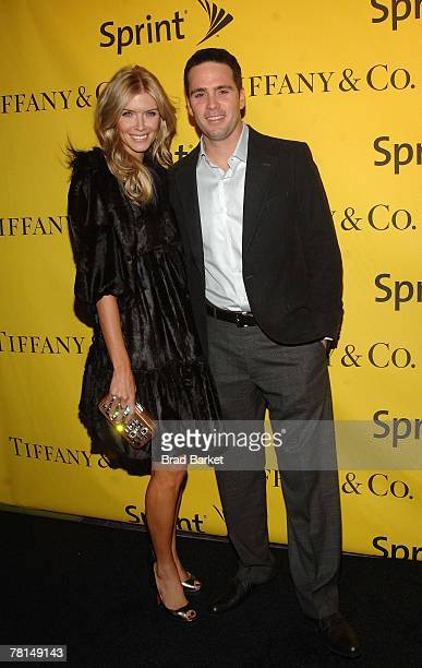 Nascar Driver Jimmie Johnson and Chandra Johnson attend the Sprint Nextel and Tiffany & Co. Celebrate Champions Week at Tiffany $ Co. On November 28,...