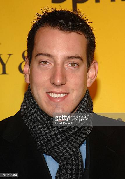 Nascar driver Kyle Bush attends the Sprint Nextel and Tiffany & Co. Celebrate Champions Week at Tiffany $ Co. On November 28, 2007 in New York City.