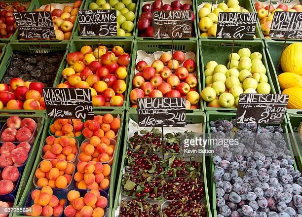 Naschmarkt Fruit Stall