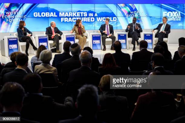 Nasdaq CEO and President Adena Friedman Blackstone Chairman and CEO Stephen Schwarzman Fox Business Network Anchor Maria Bartiromo Bank of America...
