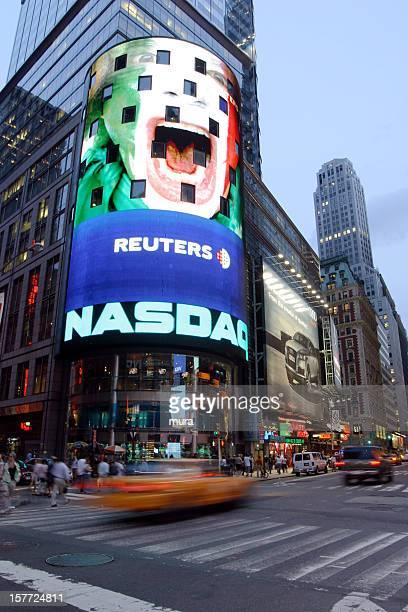 nasdaq, nyc - nasdaq stock pictures, royalty-free photos & images