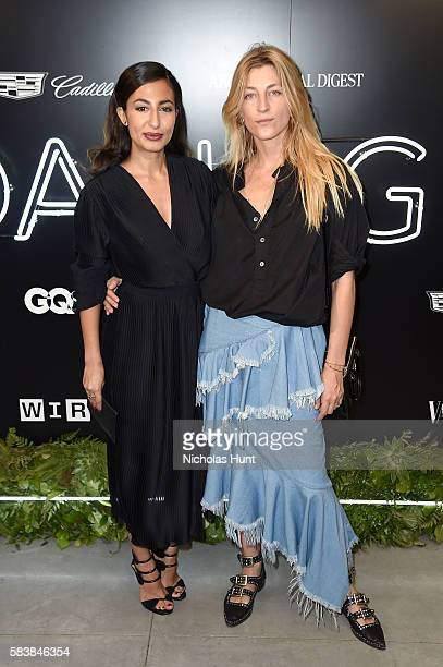 Naseem Shah and Ada Kokosar attends the Daring 25 presented by Conde Nast Cadillac at the Cadillac House on July 27 2016 in New York City