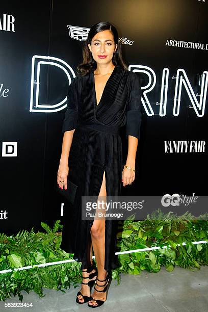 Naseem Shah and attends the Conde Nast Presents the Daring 25 in Partnership with Cadillac at the Cadillac House on July 27 2016 in New York City