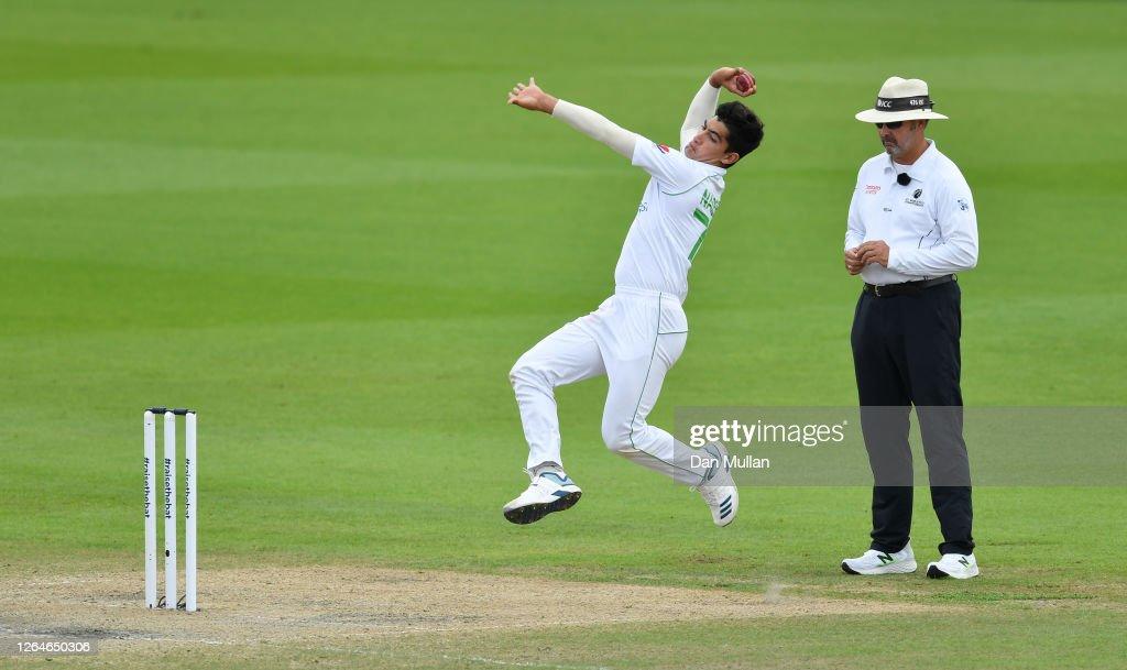 England v Pakistan: Day 4 - First Test #RaiseTheBat Series : News Photo