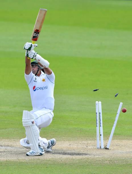 GBR: England v Pakistan: Day 4 - First Test #RaiseTheBat Series