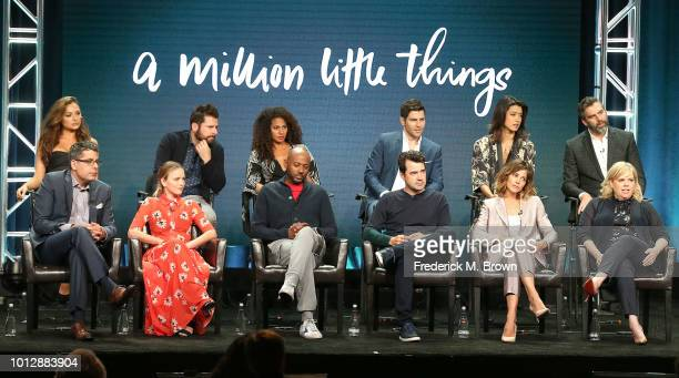 D J Nash Allison Miller Romany Malco Ron Livingston Stephanie Szostak Dana Honor Christina Ochoa James Roday Christina Moses David Giuntou Grace Park...