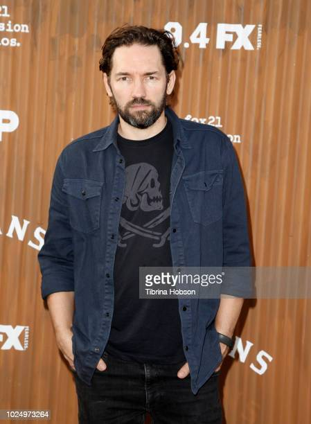 Nash Edgerton attends the premiere of FX's 'Mayans MC' at TCL Chinese Theatre on August 28 2018 in Hollywood California