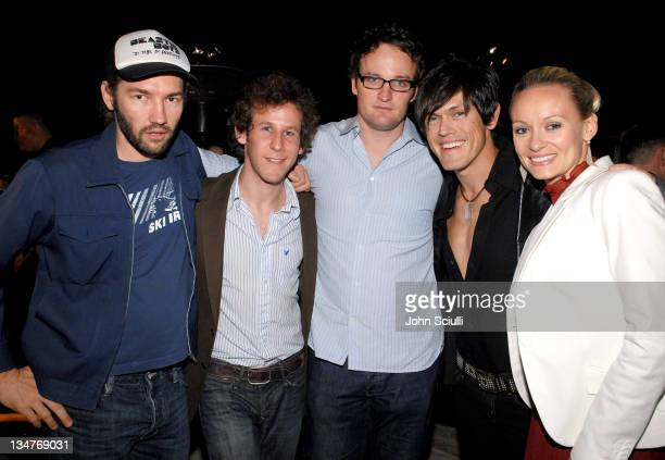 Nash Edgerton Ben Lee Jason Clarke Mig and Simone Ayesa