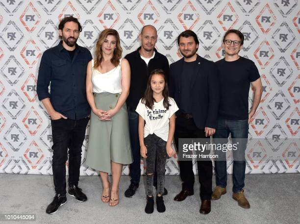 Nash Edgerton Brooke Satchwell Scott Ryan Chika Yasumura Justin Rosniak and Damon Herriman attend FX Networks Starwalk Red Carpet at TCA at The...