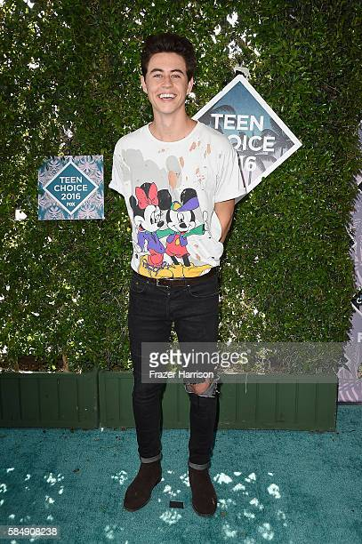 Nash Grier attends the Teen Choice Awards 2016 at The Forum on July 31 2016 in Inglewood California