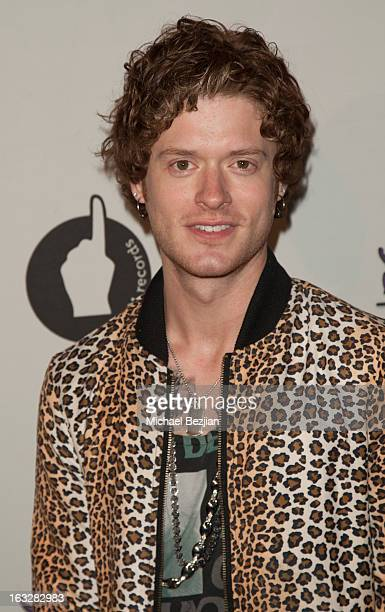 Nash Overstreet of Hot Chelle Rae attends 7th Annual 'Stars Strikes' Celebrity Bowling And Poker Tournament Benefiting A Place Called Home at PINZ...