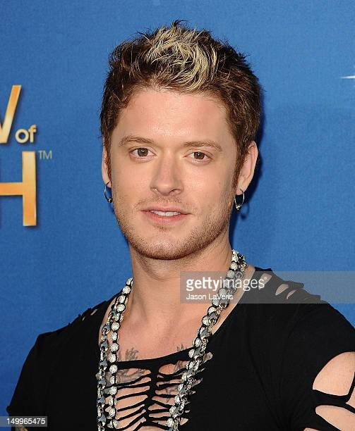 Nash Overstreet of Hot Chelle Rae attends the MDA Labor Day Telethon at CBS Studios on August 7 2012 in Los Angeles California