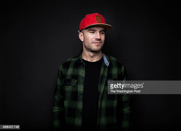 Nashville based country singer Sam Hunt sits for a portrait in New York NY on October 29th 2014 Mr Hunt's new album Montevallo is out now