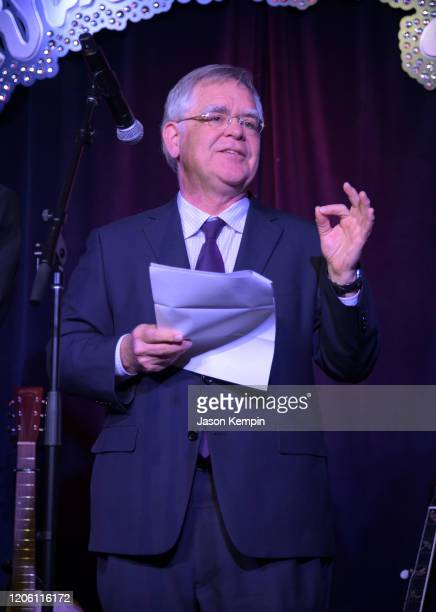Nashville Mayor John Cooper speaks at the Glen Campbell Museum and Rhinestone Stage on February 13, 2020 in Nashville, Tennessee.