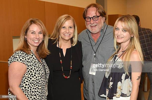 Nashville mayor Megan Barry CAA partner Rob Essig and guests attend the 24th Annual CAA BBQ at CAA Nashville on June 6 2016 in Nashville Tennessee