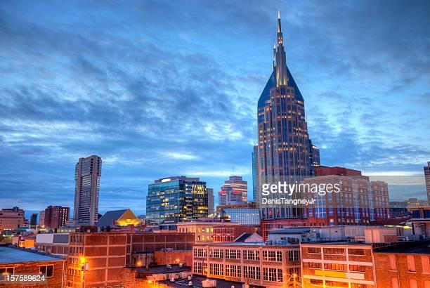 nashville - nashville skyline stock pictures, royalty-free photos & images