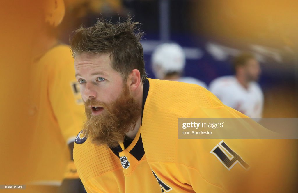 NHL: MAY 23 Stanley Cup Playoffs First Round - Hurricanes at Predators : News Photo