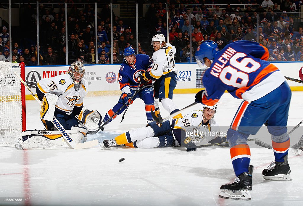 Nashville Predators v New York Islanders : News Photo