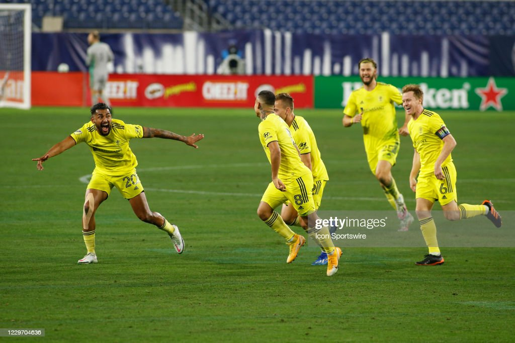 SOCCER: NOV 20 MLS Cup Playoffs Eastern Conference Play-In - Inter Miami CF at Nashville SC : News Photo