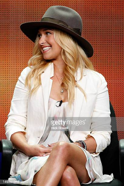 TOUR 'Nashville' Session Hayden Panettiere addressed the press at Disney/ABC Television Group's Summer Press Tour