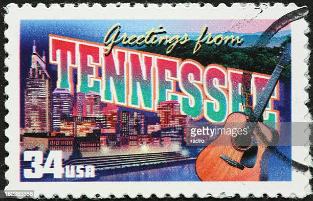 nashville tennessee guitar and river - tennessee stock pictures, royalty-free photos & images