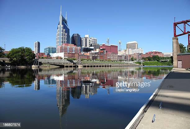 nashville tennessee - nashville skyline stock pictures, royalty-free photos & images