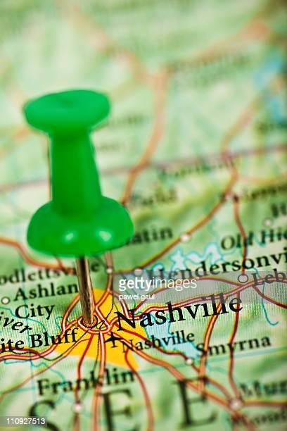 Nashville, TN map