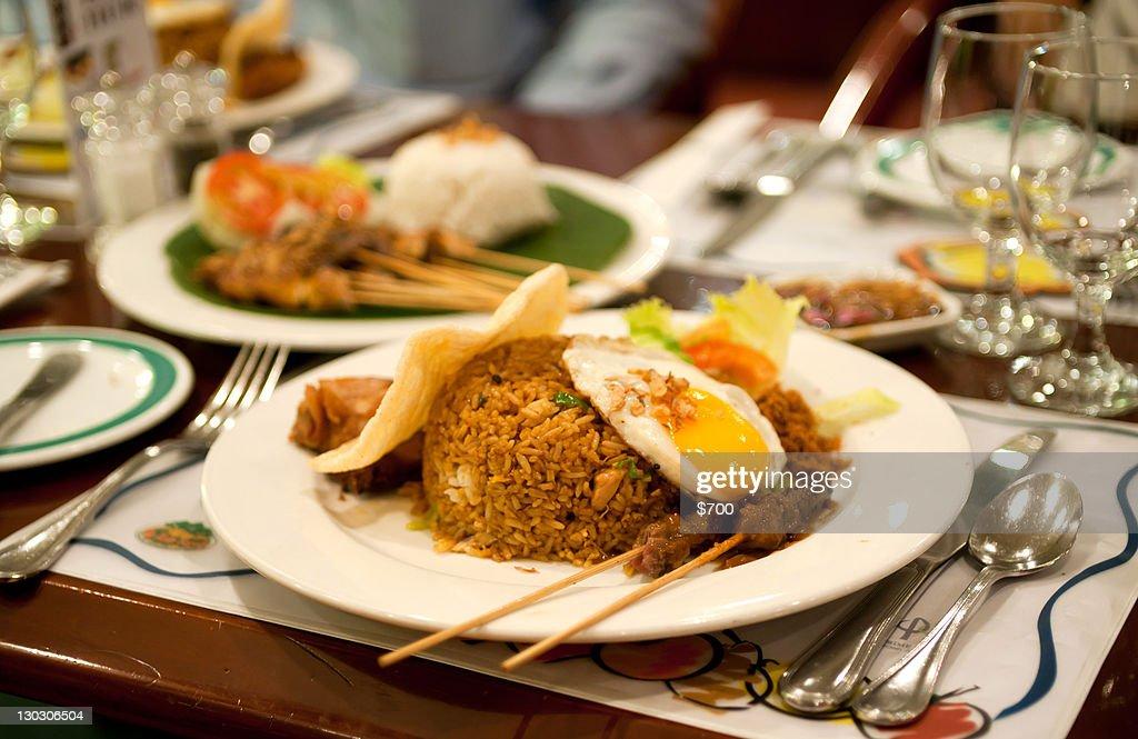 Nasi goreng Istimewa : Stock Photo
