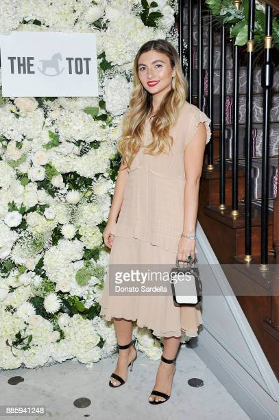 Nasiba Adilova attends The Tot holiday popup celebration at Laduree at the Grove on December 4 2017 in Los Angeles California